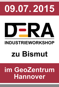 DERA Industrieworkshop Bismut am 09.07.2015