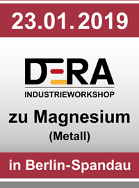 DERA Industrieworkshop zu Magnesium